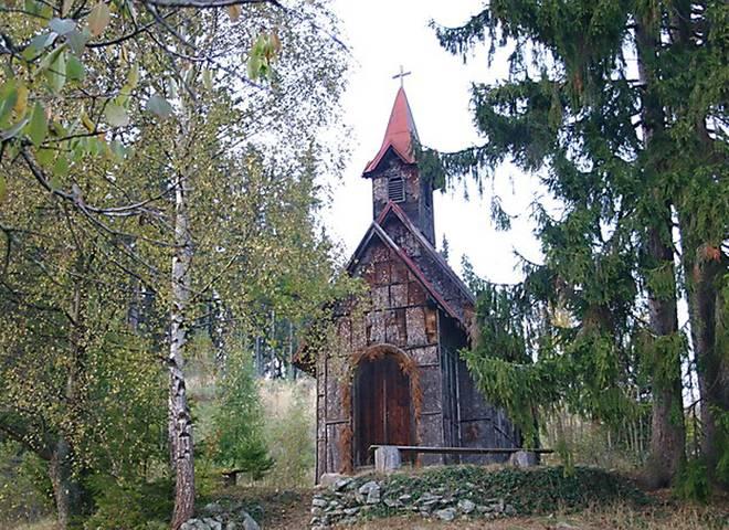 Obrázok sekcie Kôrková kaplnka, Podkriváň