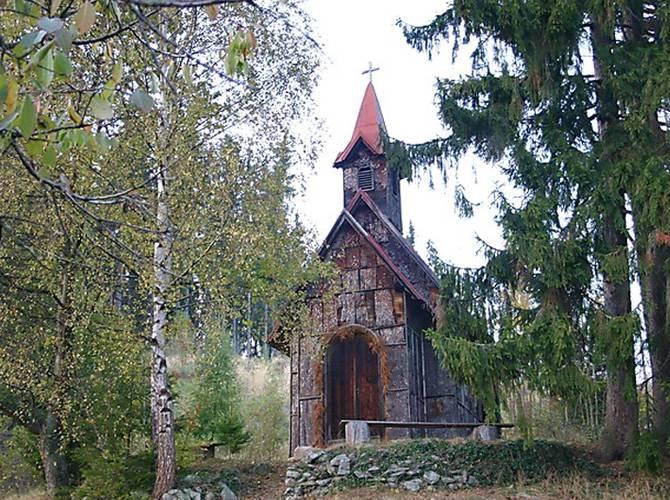 Obrázok Kôrková kaplnka, Podkriváň