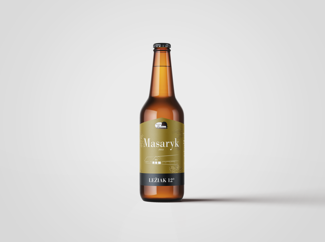 Obrázok Masaryk pivo – Ležiak 12°